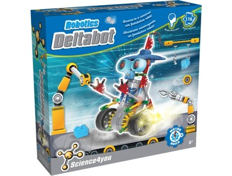 Kit SCIENCE4YOU Robotics Deltabot 3 Em 1 — Idade mínima recomendada: 12
