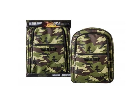 Mochila INDECA de Transporte para PS4 Warfare