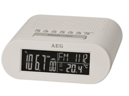 Rádio Despertador AEG MRC 4145 F — Digital