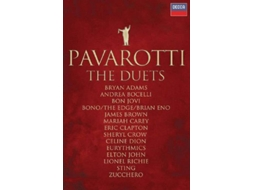 DVD Pavarotti - The Duets — Clássica