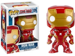 Figura Vinil FUNKO POP! Marvel Civil War: Homem de Ferro — Marvel