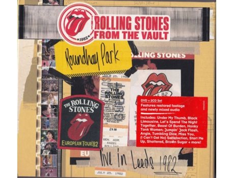 DVD The Rolling Stones - Live In Leeds 1982
