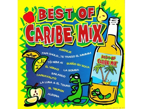 CD Vários-Best Of Caribe Mix — House / Electrónica