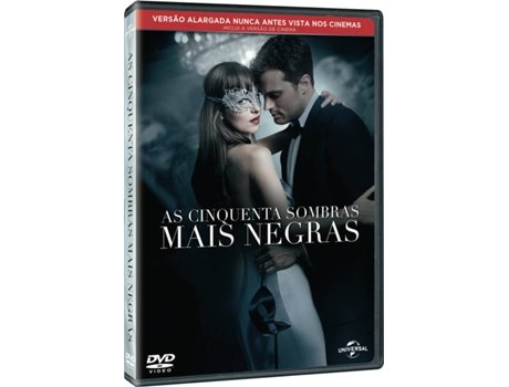 DVD As Cinquenta Sombras Mais Negras — De: James Foley / Com: Dakota Johnson,  Jamie Dornan,  Eric Johnson