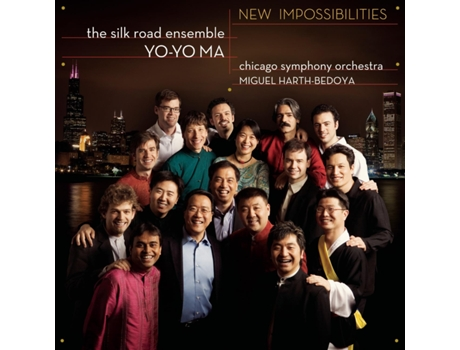 CD Yo-Yo Ma & Chicago Symphony Orchestra - New Impossibilities — Clássica