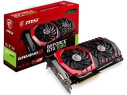 Placa Gráfica MSI GeForce GTX 1080 Gaming Z 8GB DDR5 — NVIDIA | GTX 1080