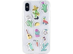 Capa BENJAMINS Stickers Apple iPhone 6, 7, 8 Multicor — Compatibilidade: iPhone 6, 7, 8