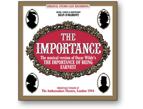 CD 'The Importance' The Musical Importance Of Being Earnest