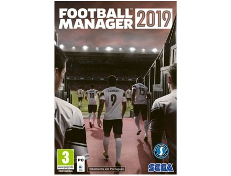 Jogo PC Football Manager 2019 (Desporto - M3)