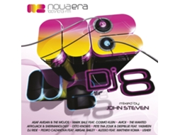CD Vários-Nova Era Dj 8 - Mixed By John Steven — House / Electrónica