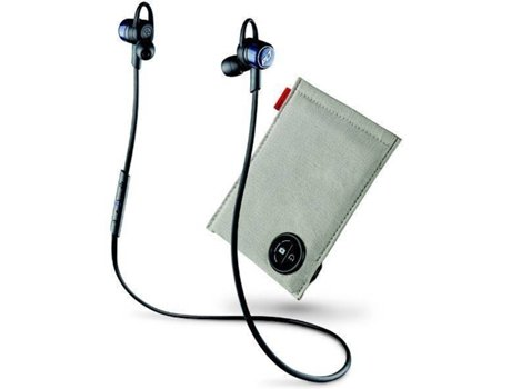 Auricular PLANTRONICS Backbeat Go 3 Azul Colbato + Power Case — Bluetooth