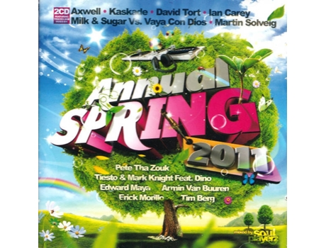 CD Annual Spring 2011 - Mixed By Soul Playerz — House / Electrónica
