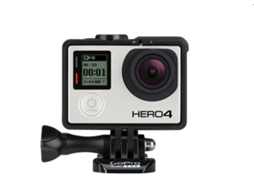 Action Cam GOPRO Hero 4 — Vídeo: 4K | 12 MP | Autonomia: Até 3 h