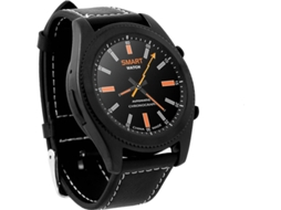 Smartwatch NO.1 S9 Preto — Bluetooth 4.0 | 380 mAh | Android e iOS