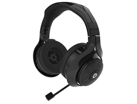 Auscultador Gaming GIOTECK Flow 200 Estéreo preto — PS4/Xbox One/PC/Mobile/Tablet | Com micro