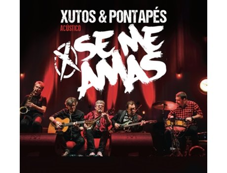 CD/DVD Xutos & Pontapés - Se Me Amas — Pop-Rock