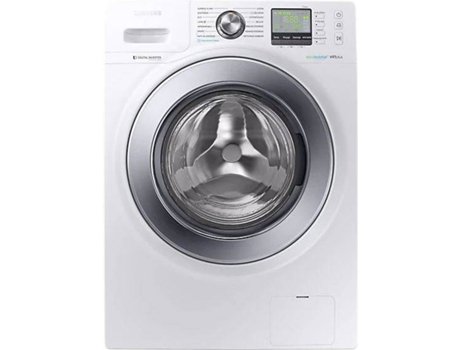 Máquina de Lavar Roupa SAMSUNG Ecobubble WW12R641U0M (12 kg - 1200 rpm - Branco)