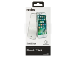 Capa SBS Crystal iPhone 6, 6s Transparente — Compatibilidade: iPhone 6, 6s, 7 ,8