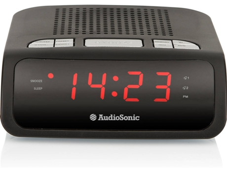 Rádio Despertador AUDIOSONIC CL-1459 — Digital