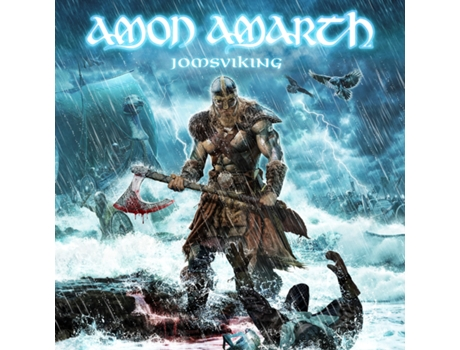 Vinil+CD Amon Amarth - Jomsviking — Pop-Rock
