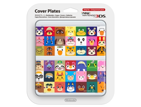 Capa Decorativa NEW 3DS Animal Crossing: Happy Home Design — Compatibilidade: New Nintendo 3DS