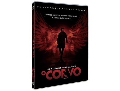 DVD O Corvo — De: James McTeigue | Com: John Cusack,Alice Eve,Luke Evans
