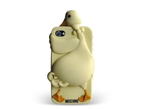 Capa MOSCHINO Goose iPhone 4/4S Light Brown — Capa / iPhone 4/4S