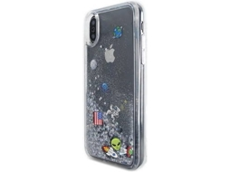 Capa BENJAMINS Space Apple iPhone X Multicor — Compatibilidade: iPhone X