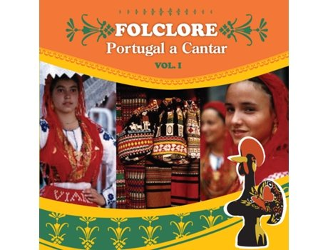 CD Folclore: Portugal a Cantar Vol.I — Popular