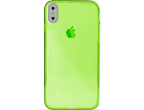 Capa iPhone X, XS PURO 0.3 Nude Verde — Compatibilidade: iPhone X, XS