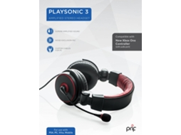 Auscultador Gaming PRIF PS4-PC PLAYSONIC 3 — Multplataformas / Com micro