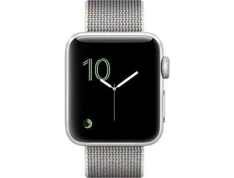 Apple Watch APPLE Series 2 38 mm Prateado — Bluetooth 4.0 e Wi-fi | 273 mAh | iOS