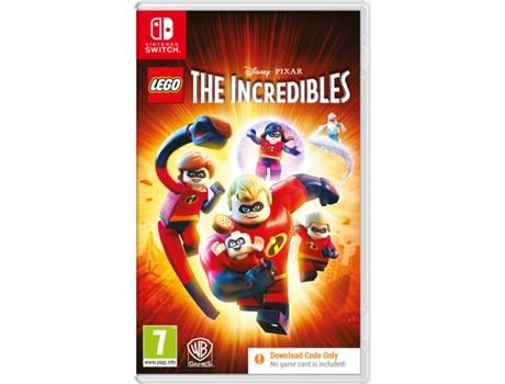 Jogo Nintendo Switch Lego Incredibles (Código Digital)