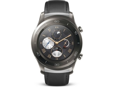 Smartwatch HUAWEI 2 Classic Bluetooth Titanium Grey — Android e iOS / 420 mAh