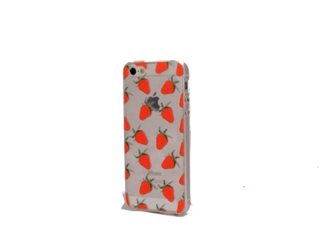Capa iphone 5SE strawberry — Compatibilidade: iphone 5S