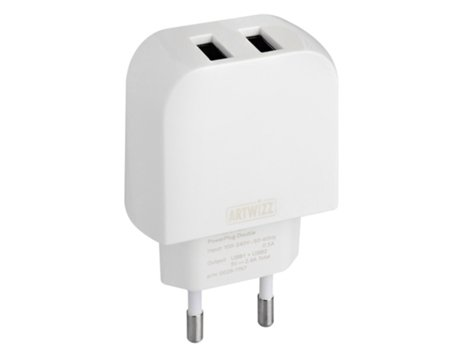 Carregador ARTWIZZ Powerplug Double — Powerplug