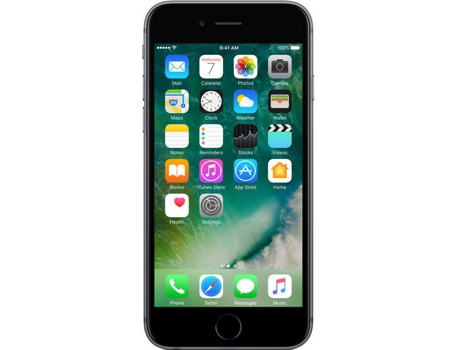 Smartphone APPLE iPhone 6 32GB Cinzento sideral — iOS 9 / 4.7'' / A8