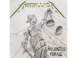 CD Metallica - And Justice For All — Metal/Hard