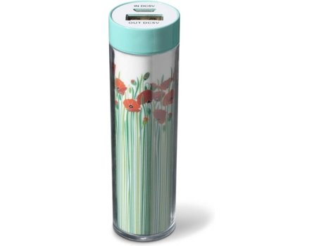 Powerbank CELLULAR LINE 2200 mAh Flores — 2200 mAh