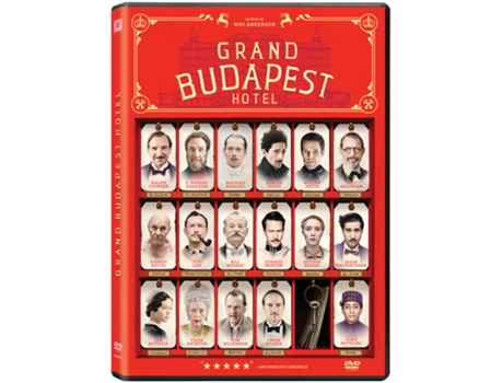 DVD Grand Budapest Hotel — De: Wes Anderson | Com: Ralph Fiennes, Edward Norton, Jude Law