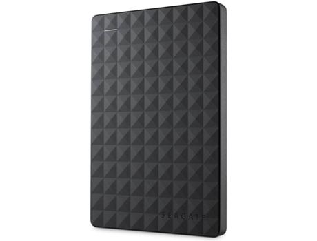Disco HDD Externo SEAGATE Expansion Portable 2TB (Preto - 2 TB - USB 3.0) | [6259045 ]