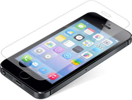 Película Vidro Temperado INVISIBL SHIELD Glass iPhone 5, 5s, SE — Compatibilidade: iPhone 5, 5s, SE