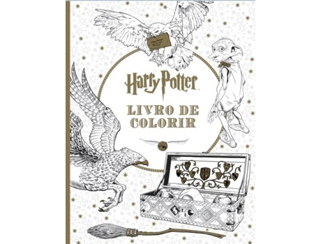Livro de Colorir Harry Potter — Infantil