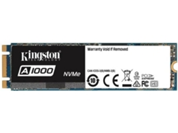 Disco Interno SSD 2.5'' KINGSTON 960GB A1000 M.2 2280 — 2.5'' | 960 GB