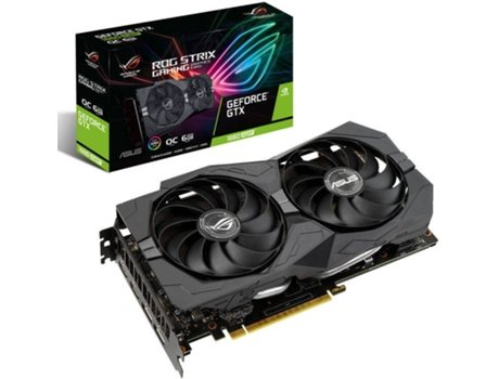 Placa Gráfica ASUS Rog Strix GeForce GTX 1660 Super Gaming (NVIDIA - 6 GB GDDR6)