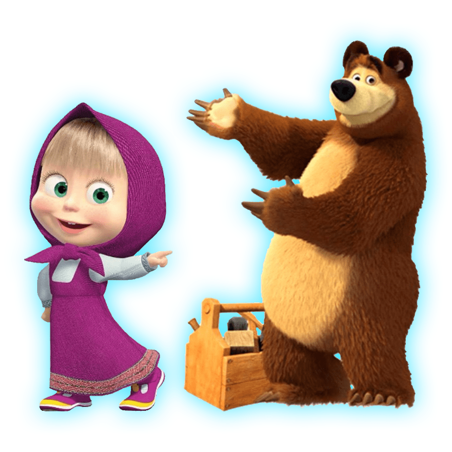 Герои мультфильма маша и медведь в картинках, свадебные картинки