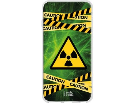 Capa Honor 20 Lite TECHCOOL Caution Multicor