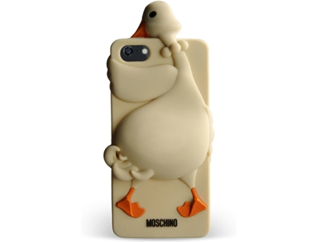 Capa MOSCHINO Goose iPhone 5/5S/Se Brown — Capa / iPhone 5/5S/Se