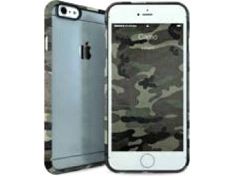 Capa I-PAINT Ghost Camo iPhone 6, 6s Verde — Compatibilidade: iPhone 6, 6s