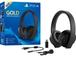 Auscultadores PS4/PS VR Wireless Gold — PS4 | PS VR